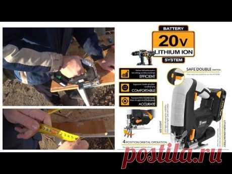 Аккумуляторный лобзик DEKO 20V с Али Экспресс - Распаковка и тестирование