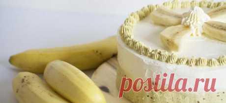 Банановый торт – рецепты шоколадного, творожного и бисквитного торта и крема с бананами