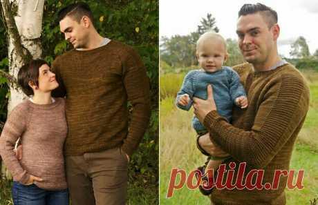 Пуловер Flaxlight . Детские и взрослые размеры. Для мужчин и женщин