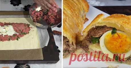 Рецепт мясного пирога, от которого просто невозможно оторваться! — Едим дома
