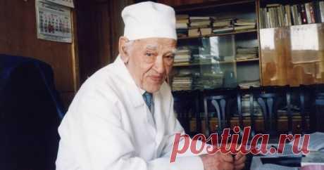 8 заповедей профессора Углова, благодаря которым он прожил 104 года! Очень правильные и мудрые рекомендации!