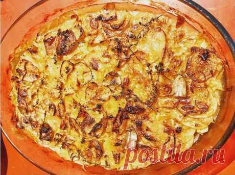 """Картофель""""Буланжер"""": безумно вкусная и простая """"томленая"""" запеканка - Ladiesvenue.ru"""
