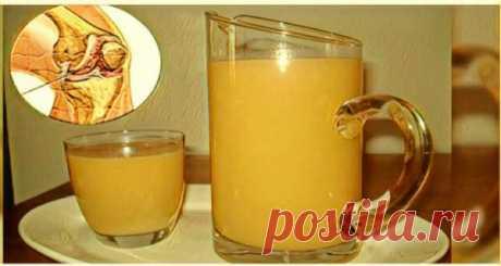 Укрепляйте колени, восстанавливайте хрящи и связки с помощью этого лучшего напитка.