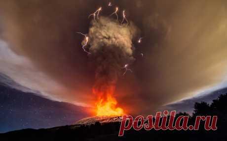 Извержение вулкана на Сицилии — Все о туризме и отдыхе