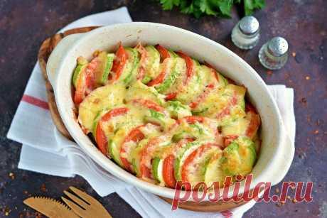 Рататуй из картофеля, кабачков и томатов — Кулинарный босс