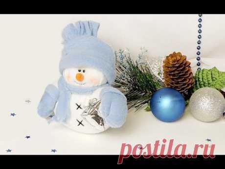 "Новогодняя поделка (сувенир) ""снеговик""  Часть 2 | Tavifa"