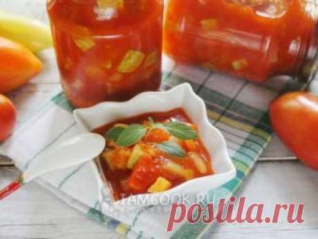 Лечо «Анкл Бенс» — рецепт с фото Нежный мягкий соус из перестроечных времен!