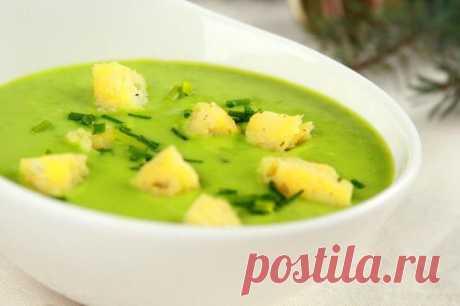 Гороховый крем-суп со сливками без мяса – пошаговый рецепт с фото.