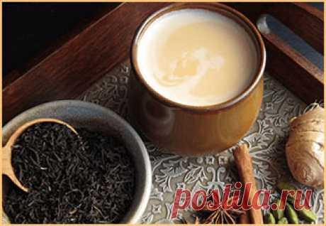 Зимние напитки: Масала-чай — чай со специями