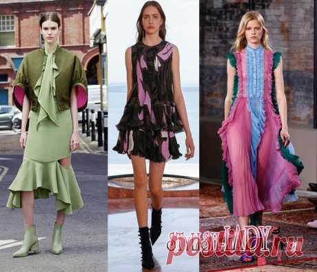 Модные тенденции весна - лето 2016, полный фото - обзор оборки