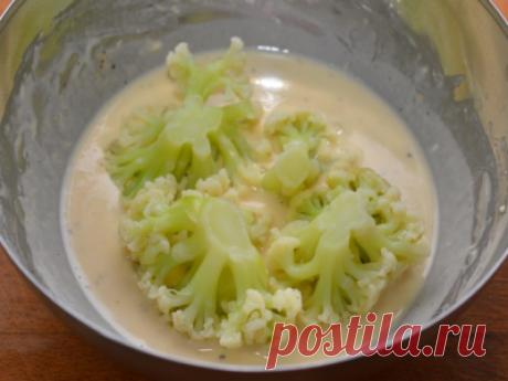 Рецепт: Кляр для цветной капусты