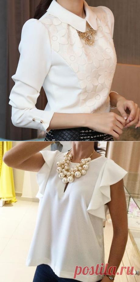 15 блузок, которые будут в тренде весь год… - Здоровые советы красоты