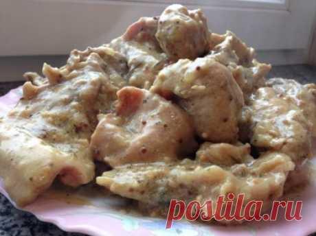 Кролик в дижонской горчице (диета Дюкан) : Низкокалорийные рецепты