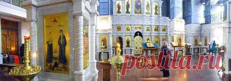 Съемка проведена с разрешения служащих храма