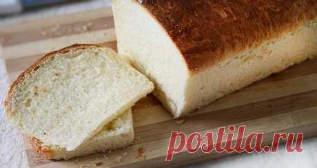 Белый хлеб без яиц рецепт | Готовим вкусно