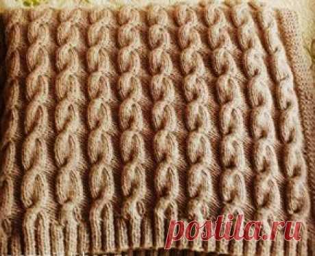 Плед со жгутами. | Плед, накидки для подушек. | Связать плед ручной вязкой со жгутами. Описание вязания пледа. Подарок для мужчин, женщин и детей. Узоры - платочная вязка, жгуты, резинка 2х2.