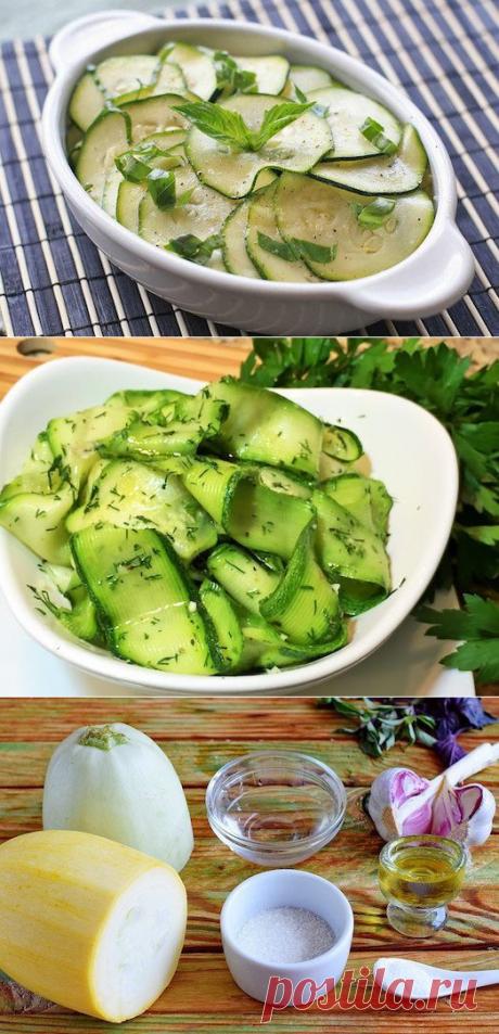 4 вкусных способа замариновать кабачки