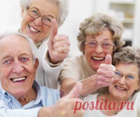 Пожилые люди (43 картинки) ⭐ Забавник