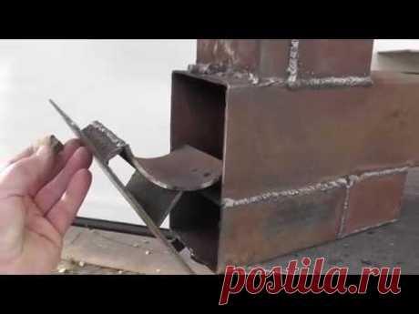 Ракетная печь для обогрева мастерской