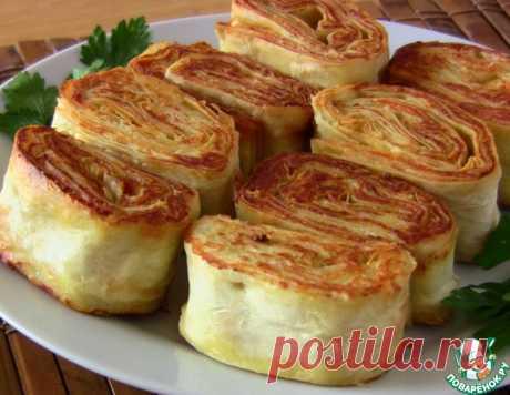 Рулетики из лаваша с курицей и сыром – кулинарный рецепт
