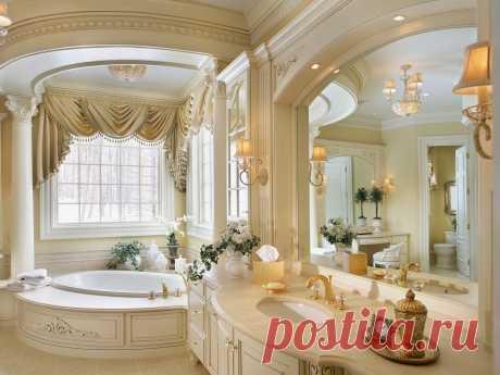 Шикарная ванная комната.