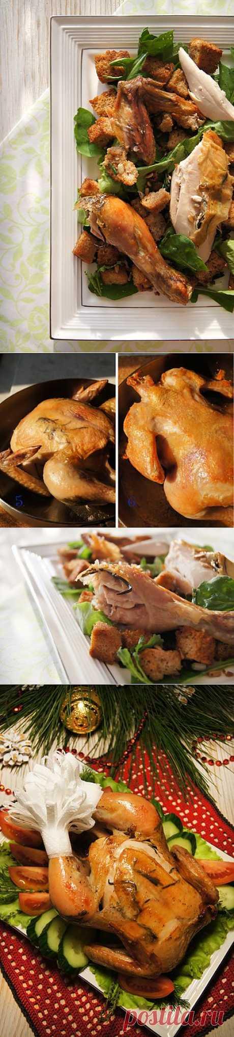 """Заметки на кухонных занавесках - Жареная курица в стиле """"Zuni Cafe"""""""