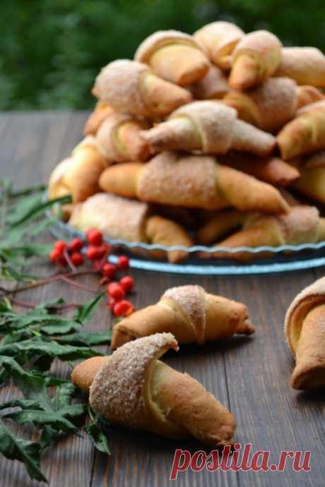 Рогалики с халвой и повидлом - пошаговый рецепт с фото - как приготовить, ингредиенты, состав, время приготовления - Леди Mail.Ru