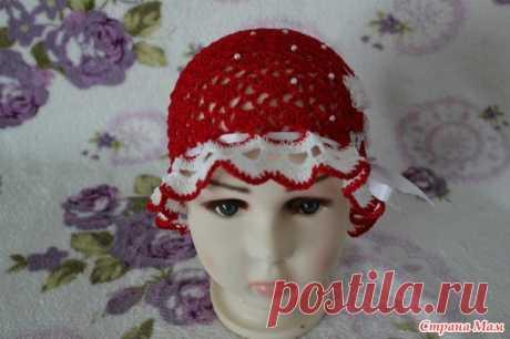 5 летних шапочек для девочек - Вязание для детей - Страна Мам