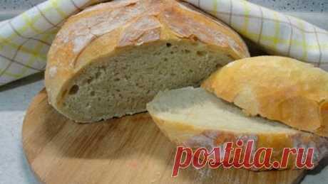 Домашний хлеб за 5 минут - самый простой и быстрый рецепт