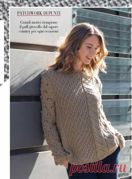 Итальянские журналы с простыми и потрясающе красивыми вязаными моделями | Сундучок с подарками | Яндекс Дзен