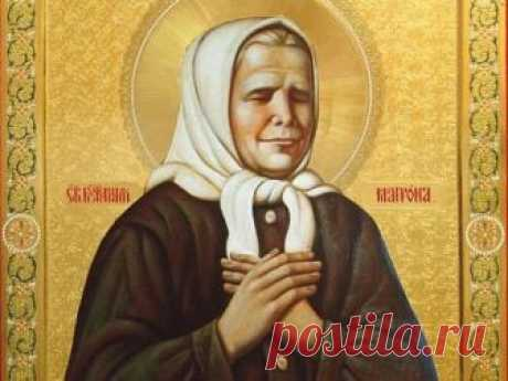 Prayers to Matrona of Moscow about money, love and healing on May 2, 2018
