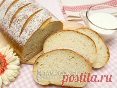 Белый хлеб «Быстрый» — рецепт с фото