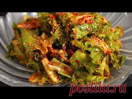 Корейский салат из капусты (Sangchu-geotjeori)