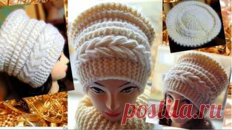 Вяжем теплую шапку-кубанку из категории Интересные идеи – Вязаные идеи, идеи для вязания