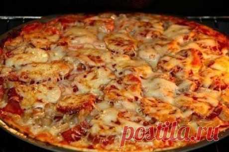 Как приготовить пицца, которая сводит с ума - рецепт, ингредиенты и фотографии