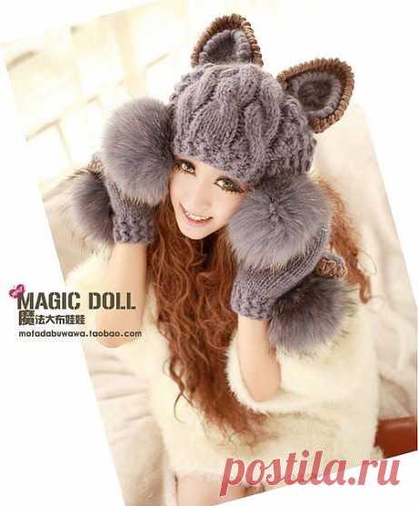 Ушки в тепле - вяжем ушанки и аксессуары от Magic Doll