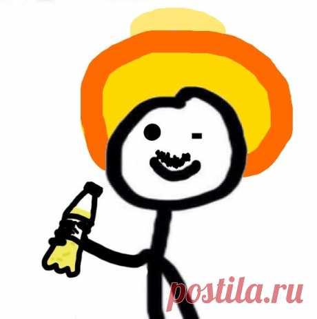 А знаете кто это?) Да это же я в субботу вечером)) Текила, сомбреро и Дима  - залог хорошего вечера))