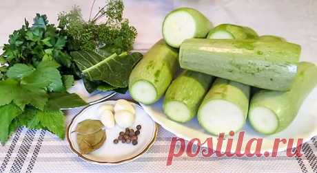 Вкусные кабачки на зиму - проверенные рецепты