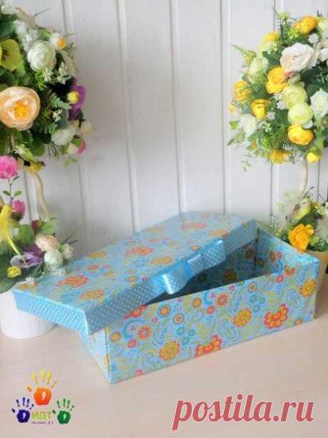 Подарочная коробка из доступных материалов. / Восприятие бизнеса