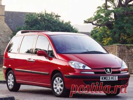 История Peugeot 807 Минивэн. Эволюция и изменения