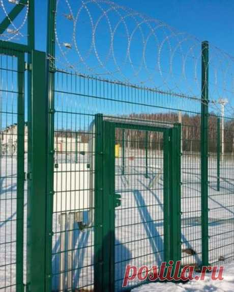 Секционный забор , 3д забор, металлический с сварной сетки оц.+ппл.: 117 грн. - Прочие стройматериалы Львов на Olx