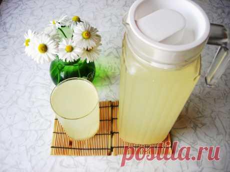 Квас (Имбирно-лимонный) В наше время все супермаркеты переполнены различными напитками. Однако, среди всех напитков, квас считается напитком, который лучше всего утоляет жажду в летнюю жару. Не люблю покупать магазинный квас…