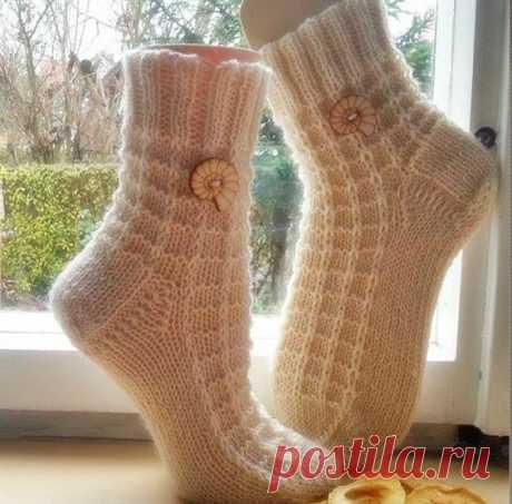 Узор для симпатичных носочков