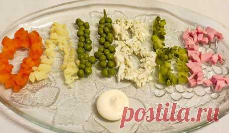Традиционный салат оливье. Классические рецепты вкусного салата с колбасой и солеными огурцами - Женская красота
