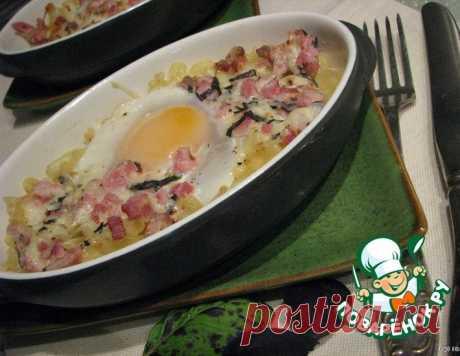 """Яйца """"Карбонара"""" – кулинарный рецепт"""