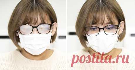 Как носить защитную маску, чтобы не запотевали очки Способ есть.