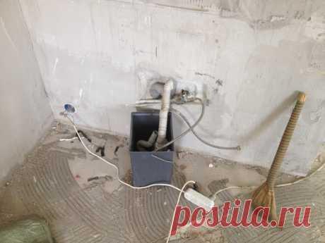 Замена водопровода во время ремонта под ключ.