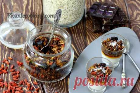 Шоколадна гранола | Picantecooking