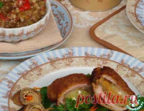 Полуфабрикаты из баклажанов и не только – кулинарный рецепт