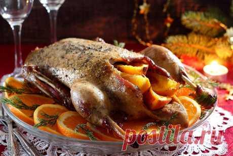 Индоутка в рукаве в духовке рецепт с фото - 1000.menu
